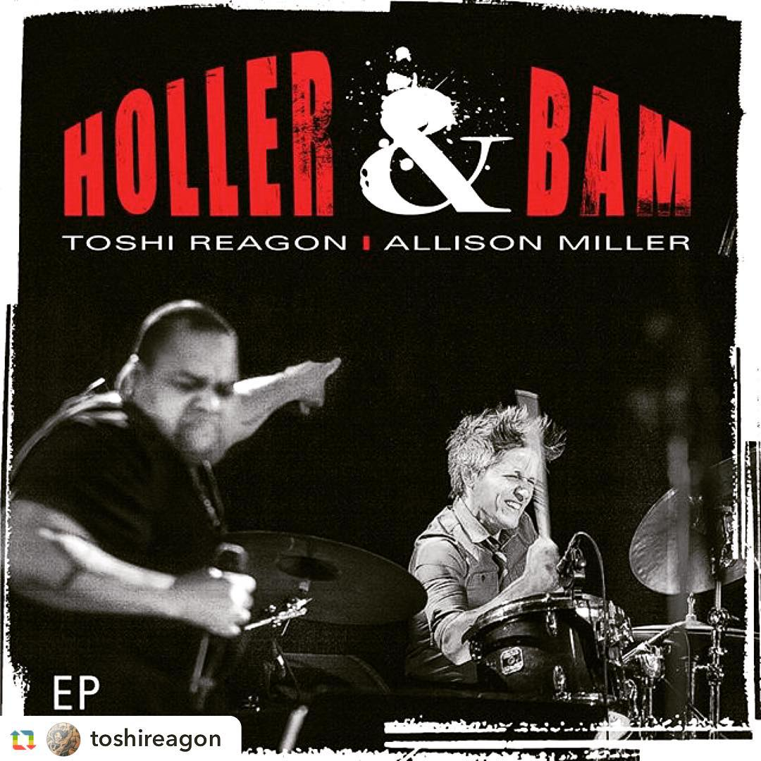 Check out my new project with @toshireagon #hollerandbam #soundcloud #drum #badassvocals #sonicexperience