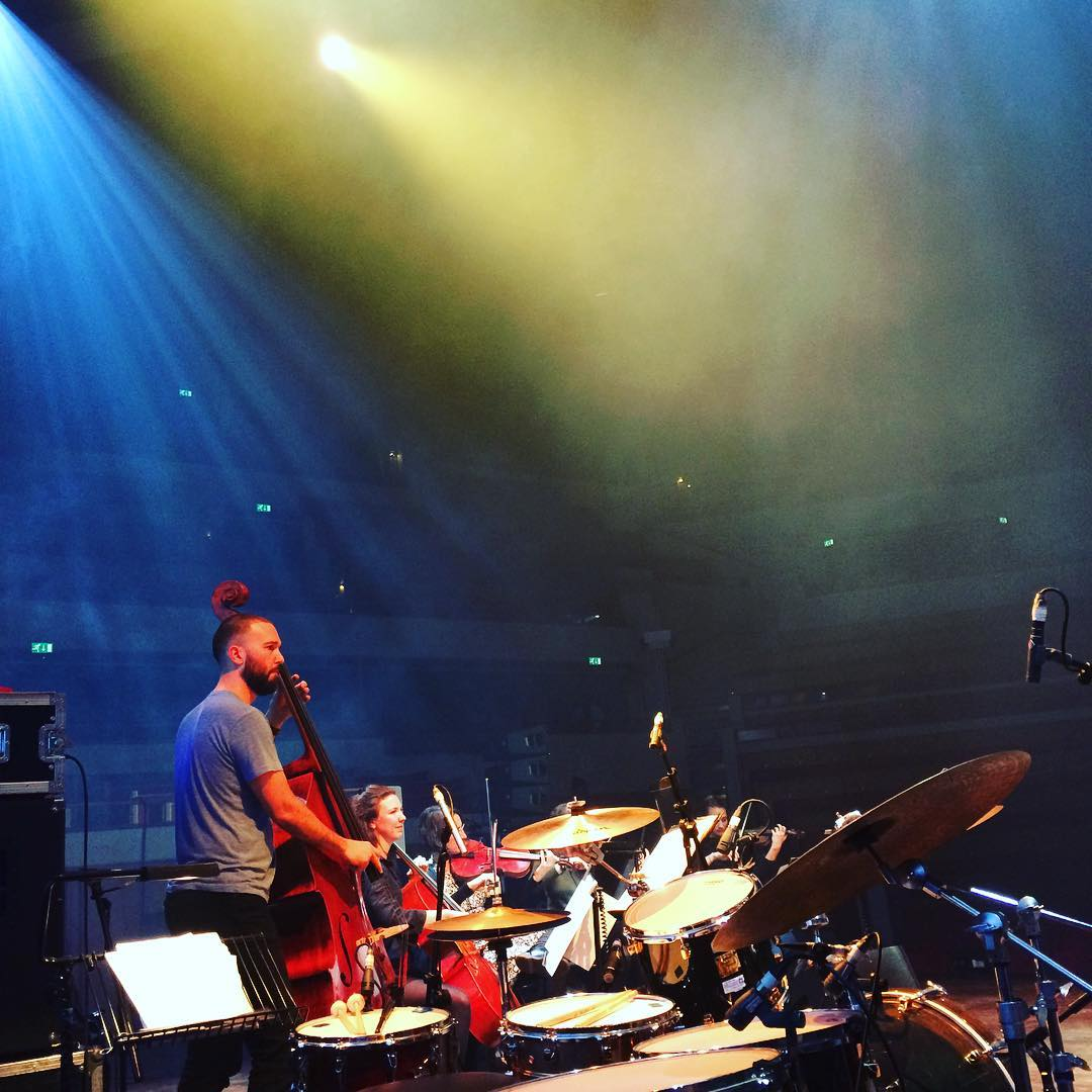 #tivoli in Utrecht.  Beautiful.  #nataliemerchant #yamahadrums #zildjian #vicfirth #evansdrumheads @fiddlermegan