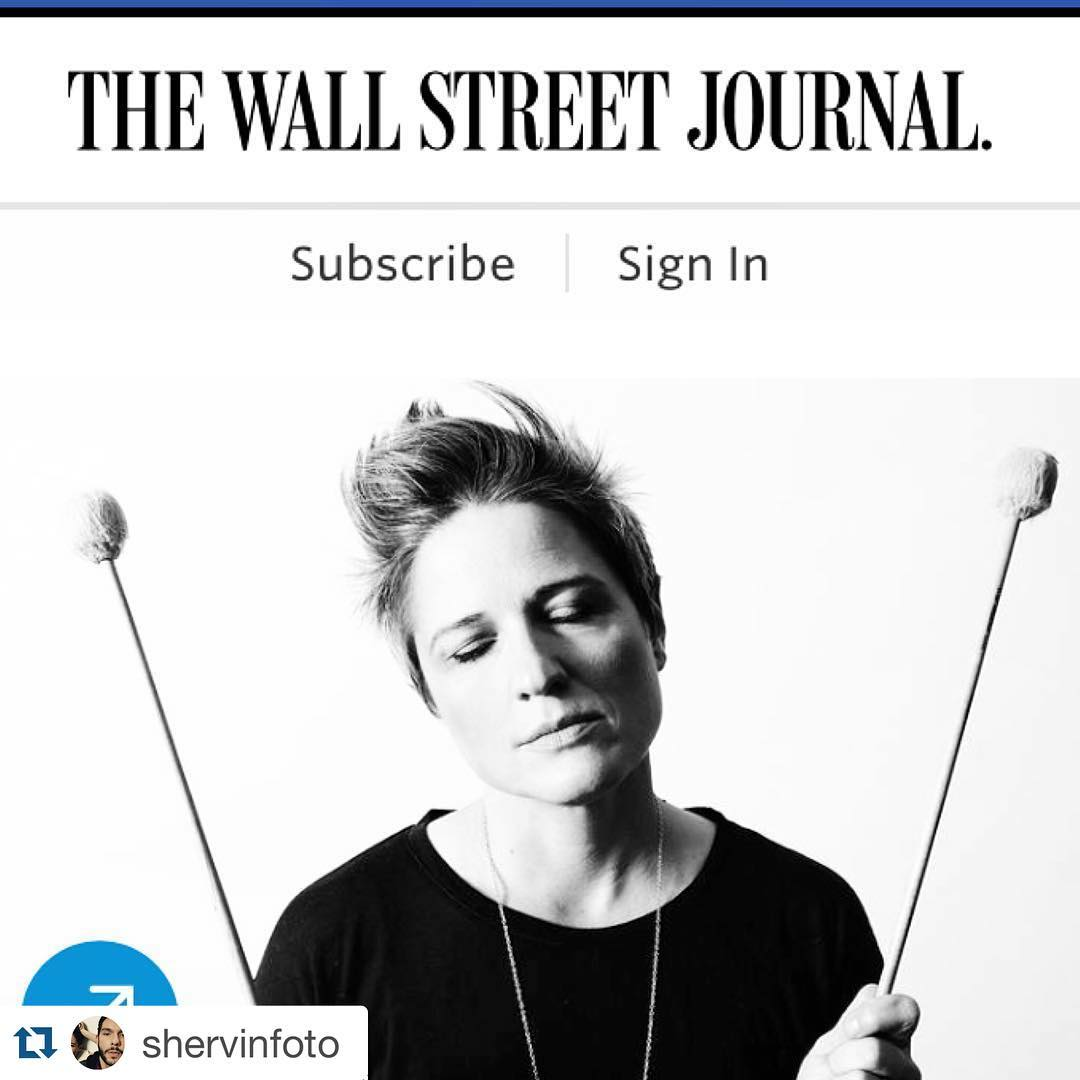 Thanks to Martin Johnson and the @wall.street.journal for the great review of my new album, #otiswasapolarbear #boomticboom and thanks to @shervinfoto for the stellar photo.  @royalpotato @jpcutlermedia