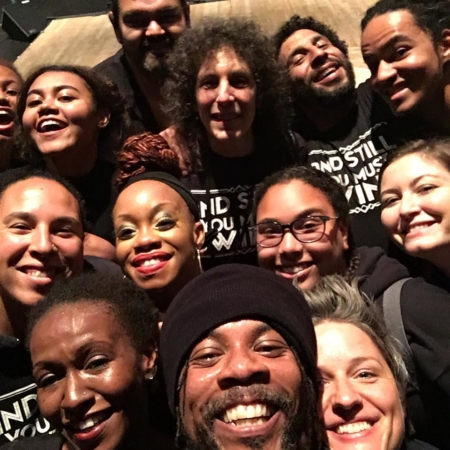 I love this crew!  #andstillyoumustswing #jacobspillow